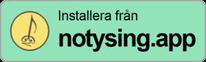 Installera från notysing.app