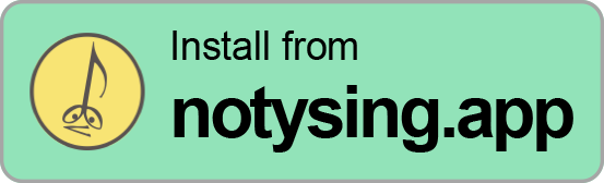 Install from notysing.app